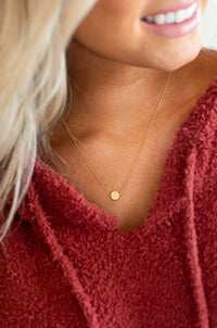 Dot Necklace - Gold