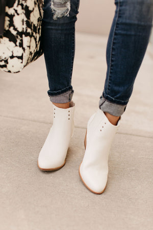 Slick Bootie - White