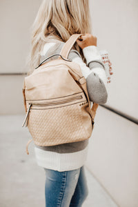 Back & Forth Backpack - Beige
