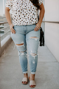 Mica Low Rise Skinny Jeans