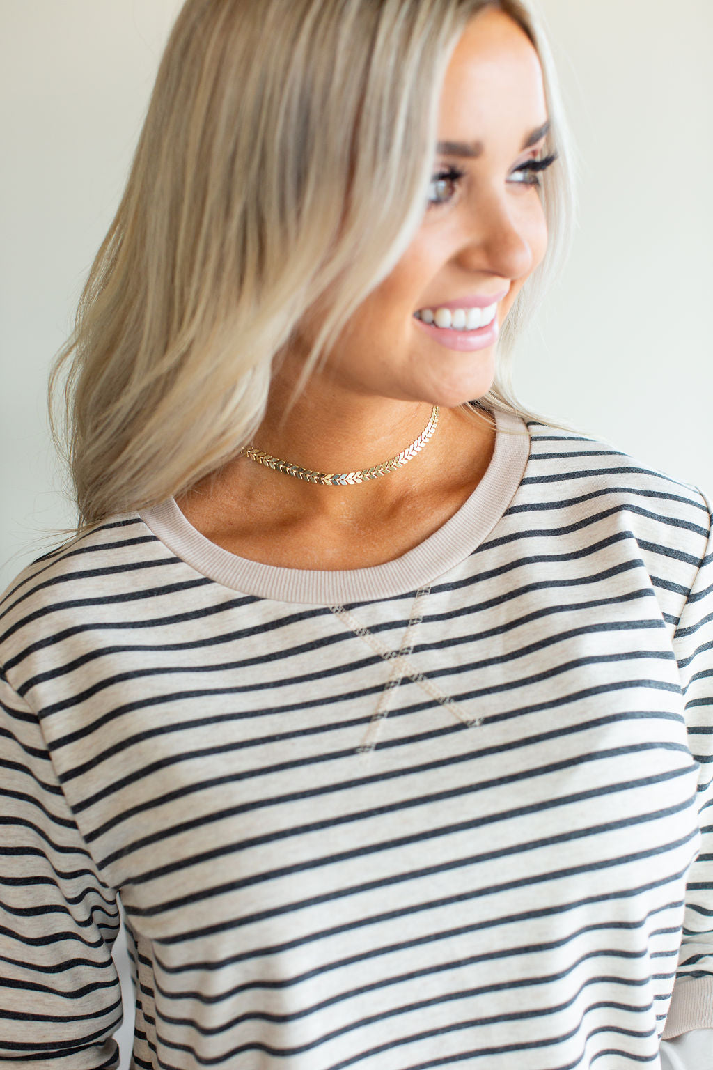 Arrow Choker Necklace - Gold