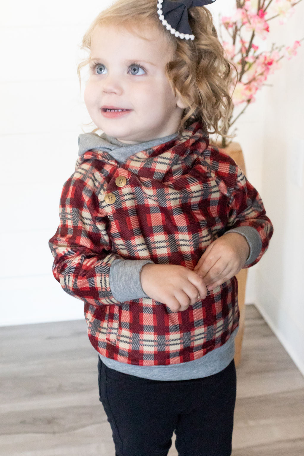 Kids DoubleHood™ - Wrap it Up Plaid