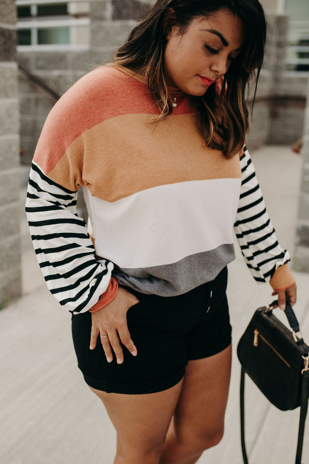 Reece Colorblock Top