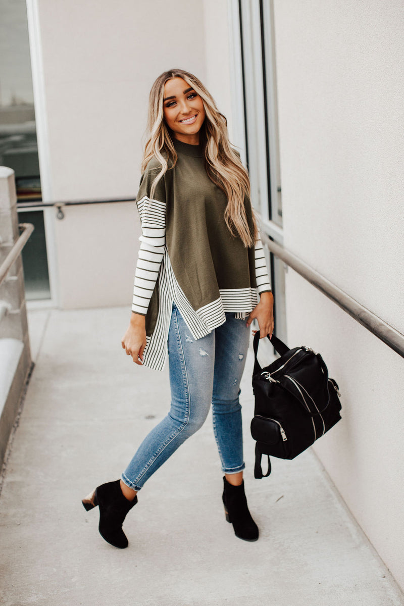Shayna Colorblock Sweater