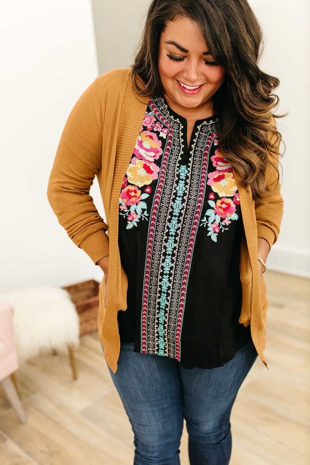 Lightweight Cuddle Cardigan - Gold