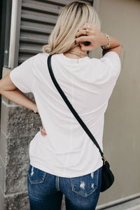 Must Have Boyfriend Tee - White