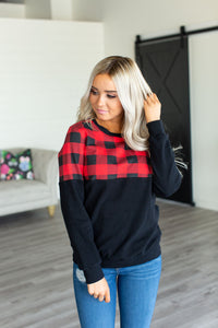 Accent Pullover - Buffalo Plaid