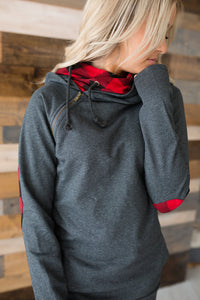 DoubleHood™ Sweatshirt - Buffalo Accent