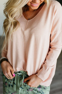 Dreamer Sweater - Blush