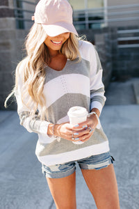 Kelsey Striped Sweater