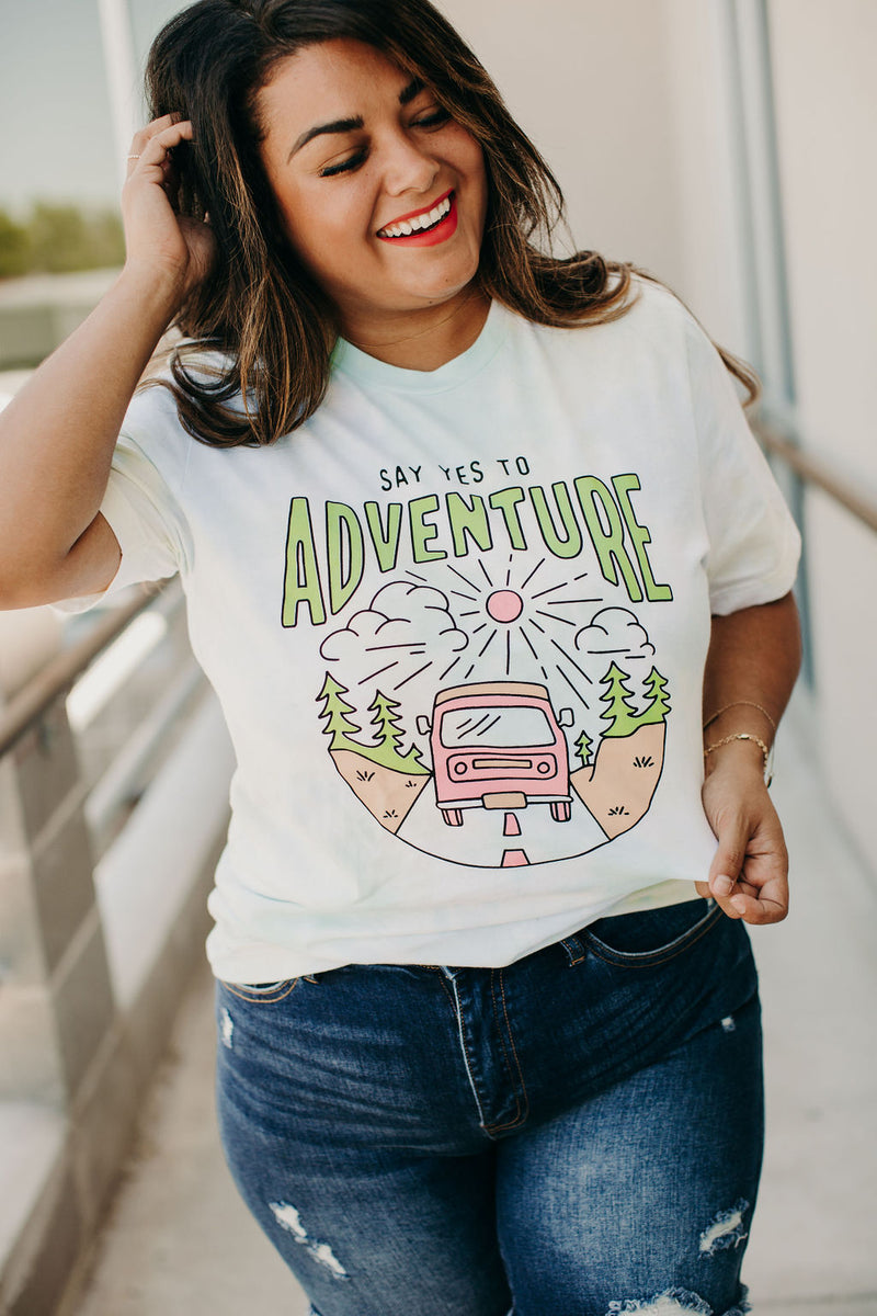 Say Yes to Adventure Tee