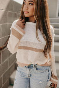 Lisa Colorblock Sweater