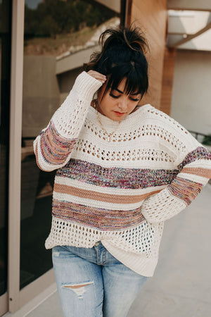 Virtue Cable Knit Sweater