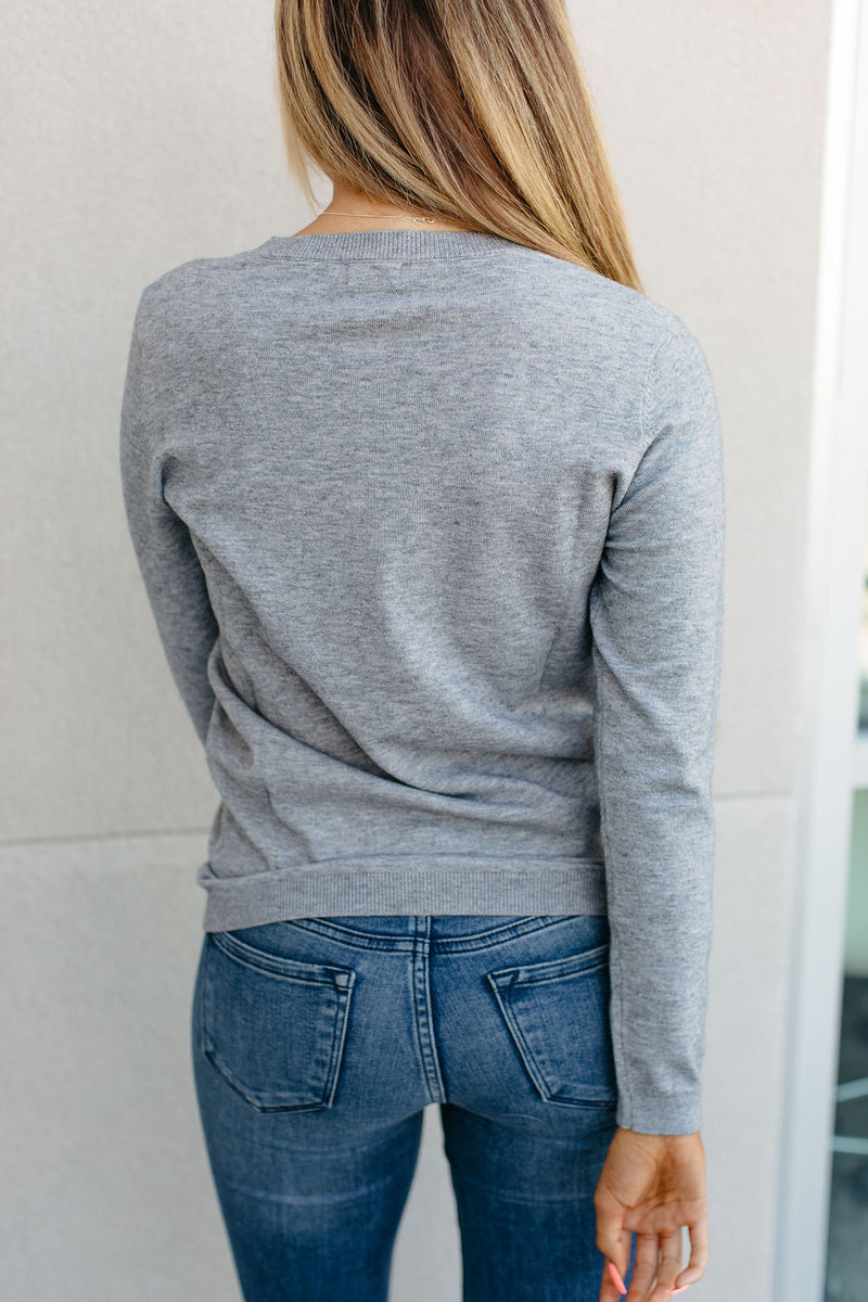 Quinn Sweater - Grey