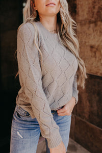 Emily Sweater - Taupe Grey
