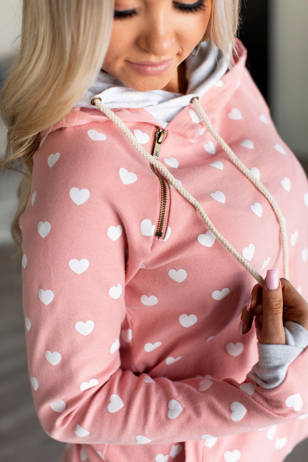 DoubleHood™ Sweatshirt - All The Heart Eyes