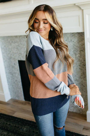 Downtown Chunk Knit Sweater