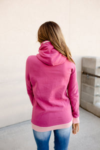Singlehood Sweatshirt - Boysenberry & Pink