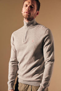 KEATON HALF-ZIP SWEATER
