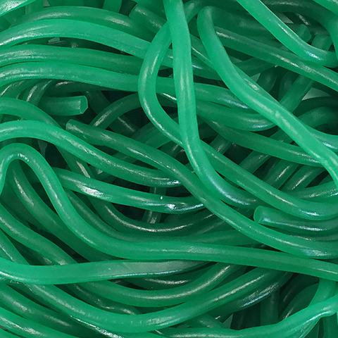 Gustaf's Green Apple Licorice Laces