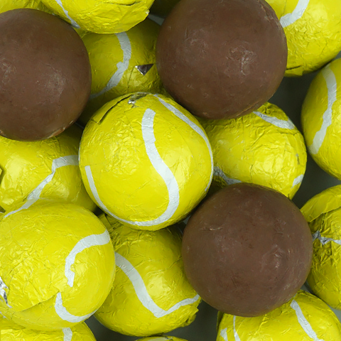 Milk Chocolate Tennis Balls