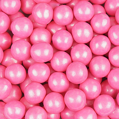 Shimmer Bright Pink Sixlets