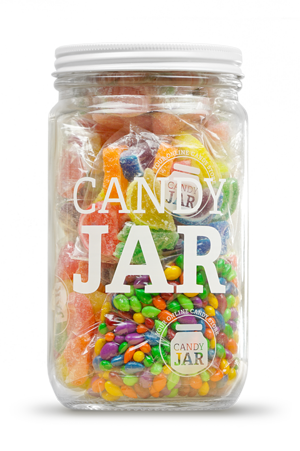jar full of candy