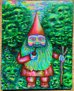 Greetings, Fellow Traveler Original Painting