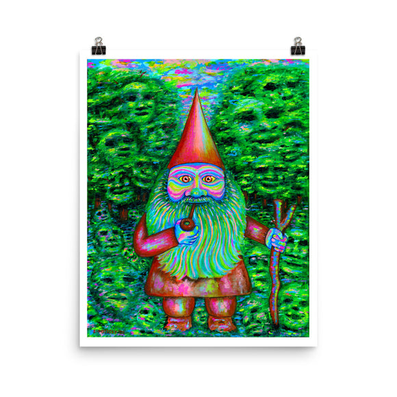 Greetings Fellow Traveler Matte Print