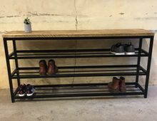 Load image into Gallery viewer, 3 Tier Shoe Storage Rack