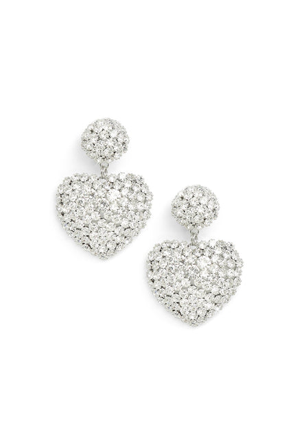 Loves Me Knot Earrings (Silver)