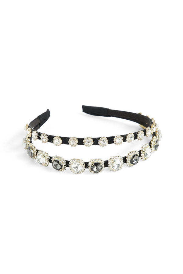 Diamond Duo Headband