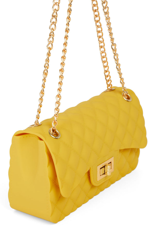 Quilts Fine By Me Bag - Mustard