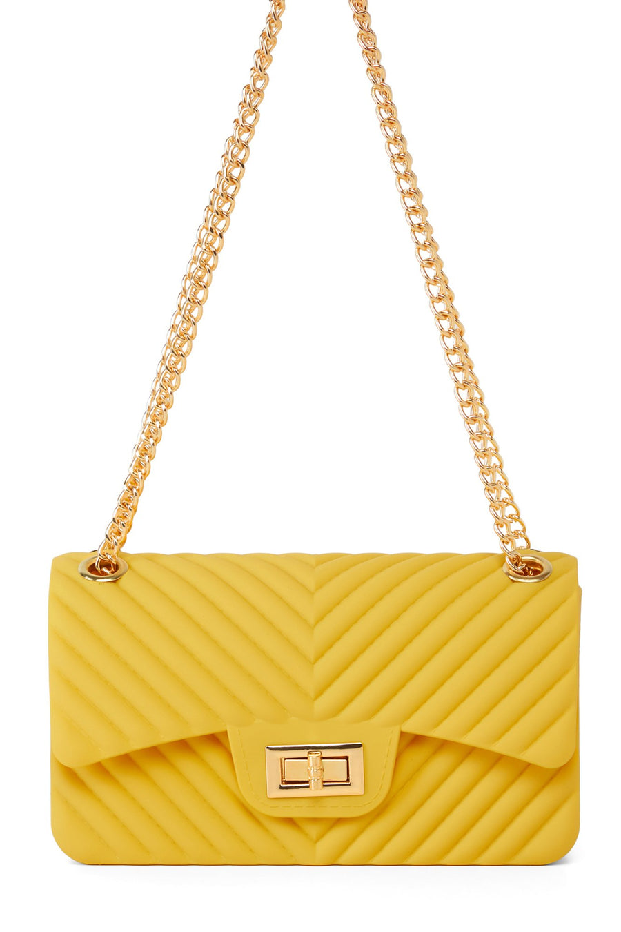Extra Lined Up Bag - Mustard