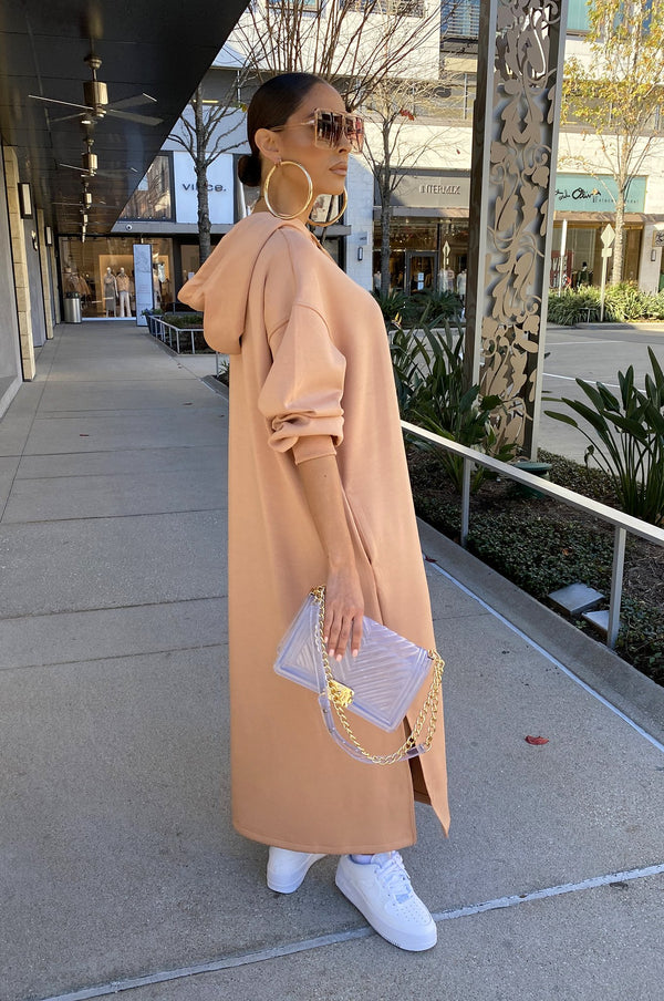 Friday Mood Dress - Nude Pink