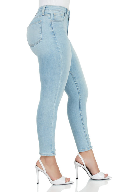 Rich And Ripped PREMIUM Denim Jeans - Light Denim
