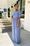 Anywhere And Everywhere Maxi Dress (Cement)