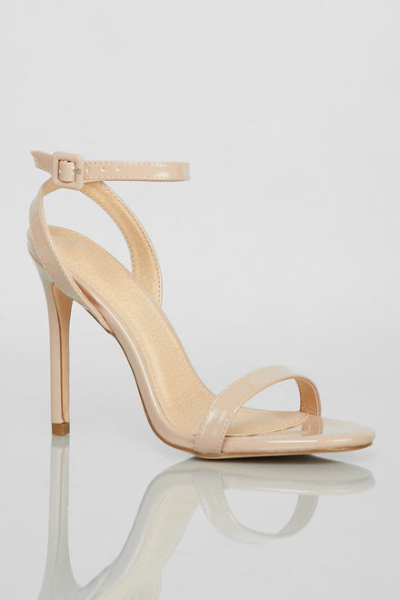 Final Strap Heels (Taupe)