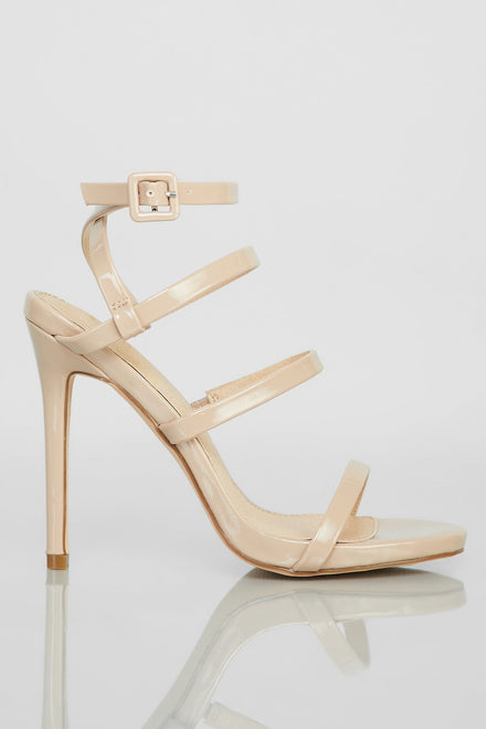 Step Things Up Heels - Taupe