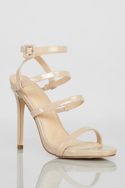 Step Things Up Heels (Taupe)