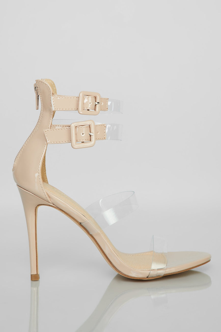 Make It Clear Heel - Nude