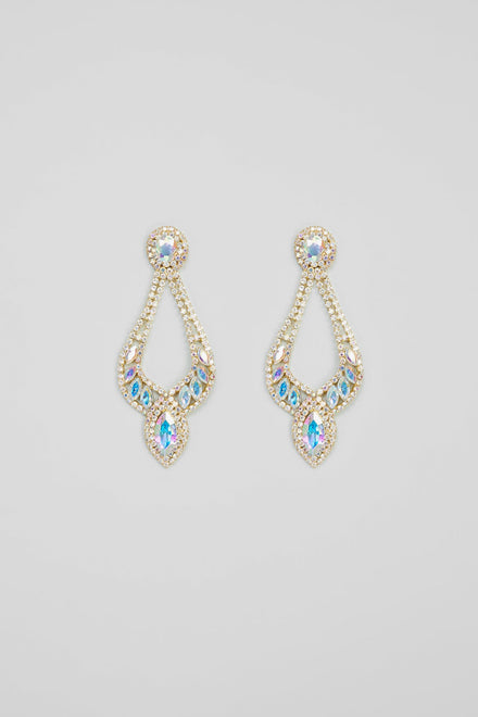 Drop The Act Earrings - Iridescent