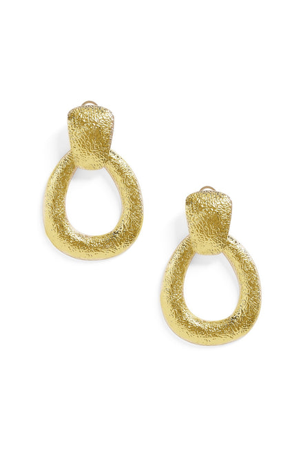 Truth Be Told Earrings - Gold