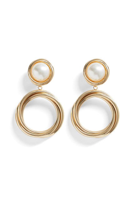 In My Circle Earrings (Gold)