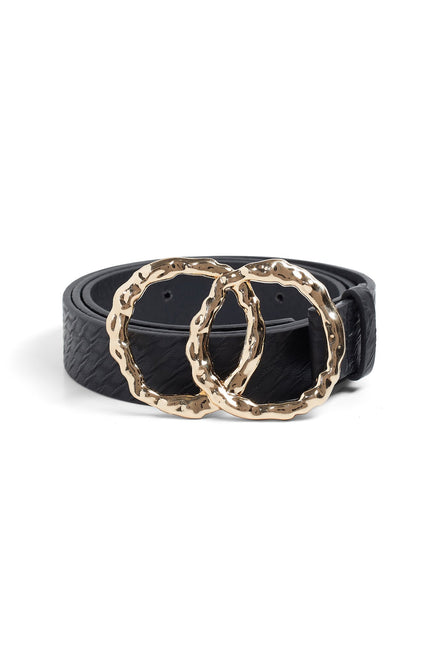 Its Just A Crush Belt (Black/Snake)