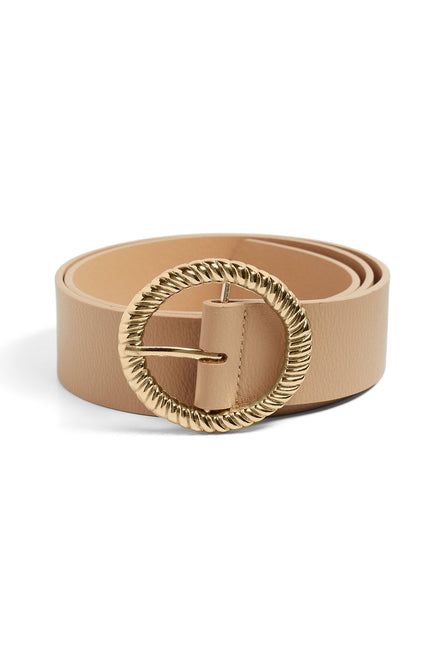 Gather Round Belt (Beige)