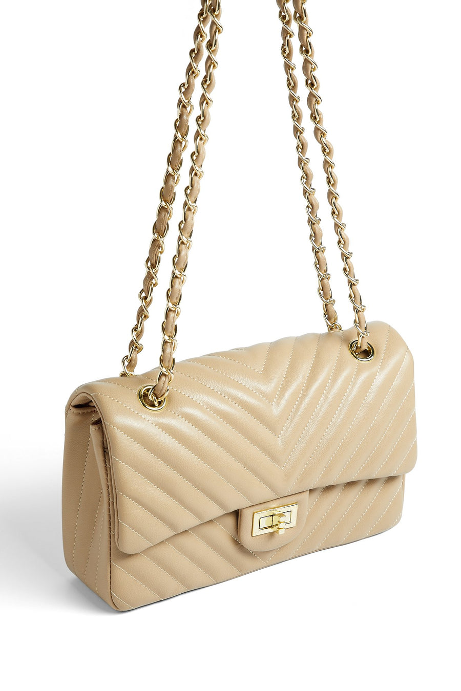 Move In My Direction Handbag (Taupe)