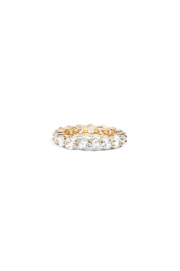Beyond Eternity Ring - Gold