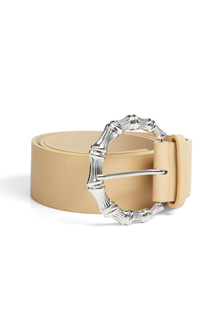 Final Statement Belt (Nude/Silver)