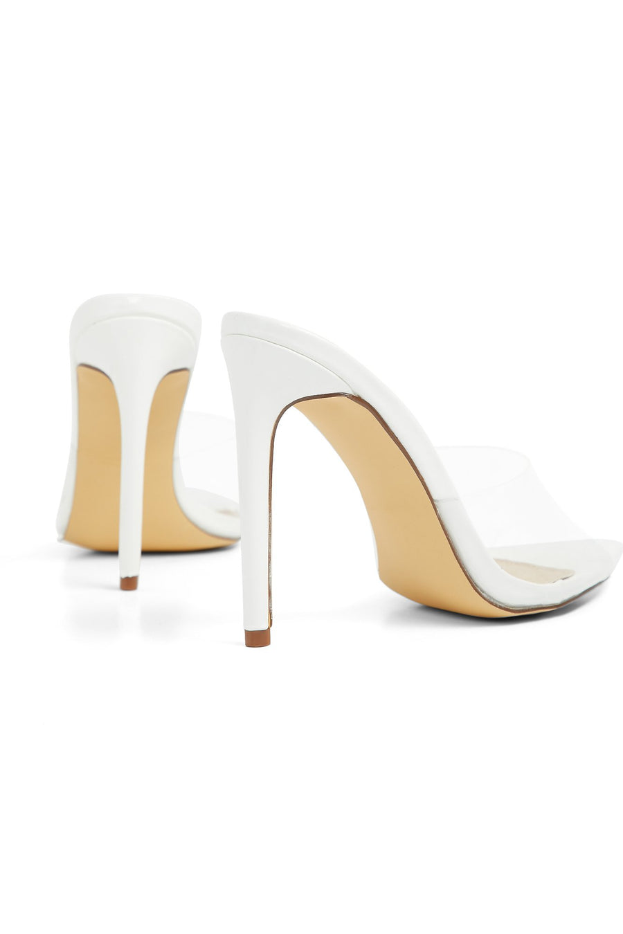 Stand Clear Heels (White)